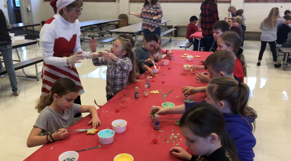 Elementary Cookie Decorating